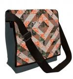 Camo Quilt—Eco Messenger Bag