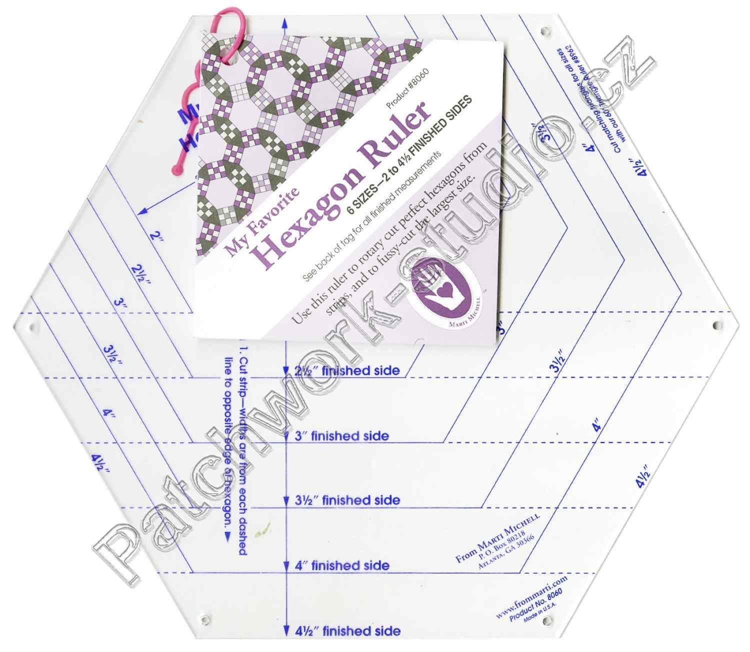 Hexagon ruler 8060
