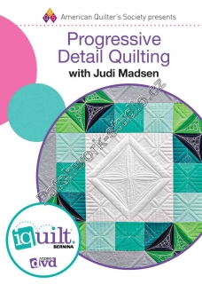 Progressive Detail Quilting - DVD