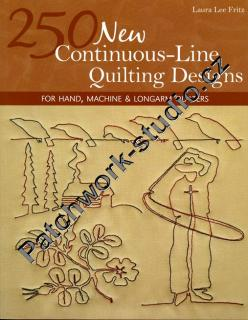 250 New Continuous-Line Quilting Designs