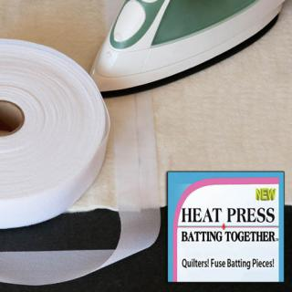 Heat Press Batting Together 1-1/2in X 100yd