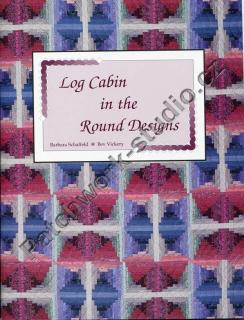 Log Cabin in the Round Designs